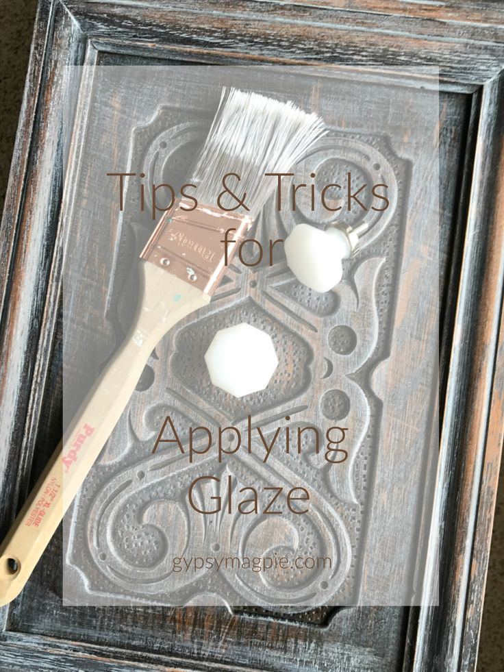 I've been glazing pieces for years and have done a lot of trial and error. Here are my best tips & tricks for applying glaze to furniture.