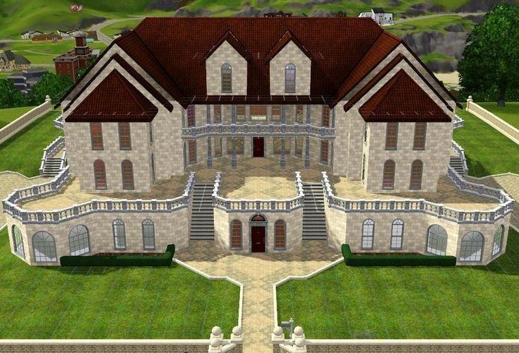 Sims 3 Houses Plans Sims 3 Houses Plans Sims House Plans Sims 3 Houses Ideas