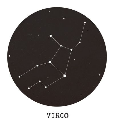 Virgo Star Constellation for my wrist tattoo