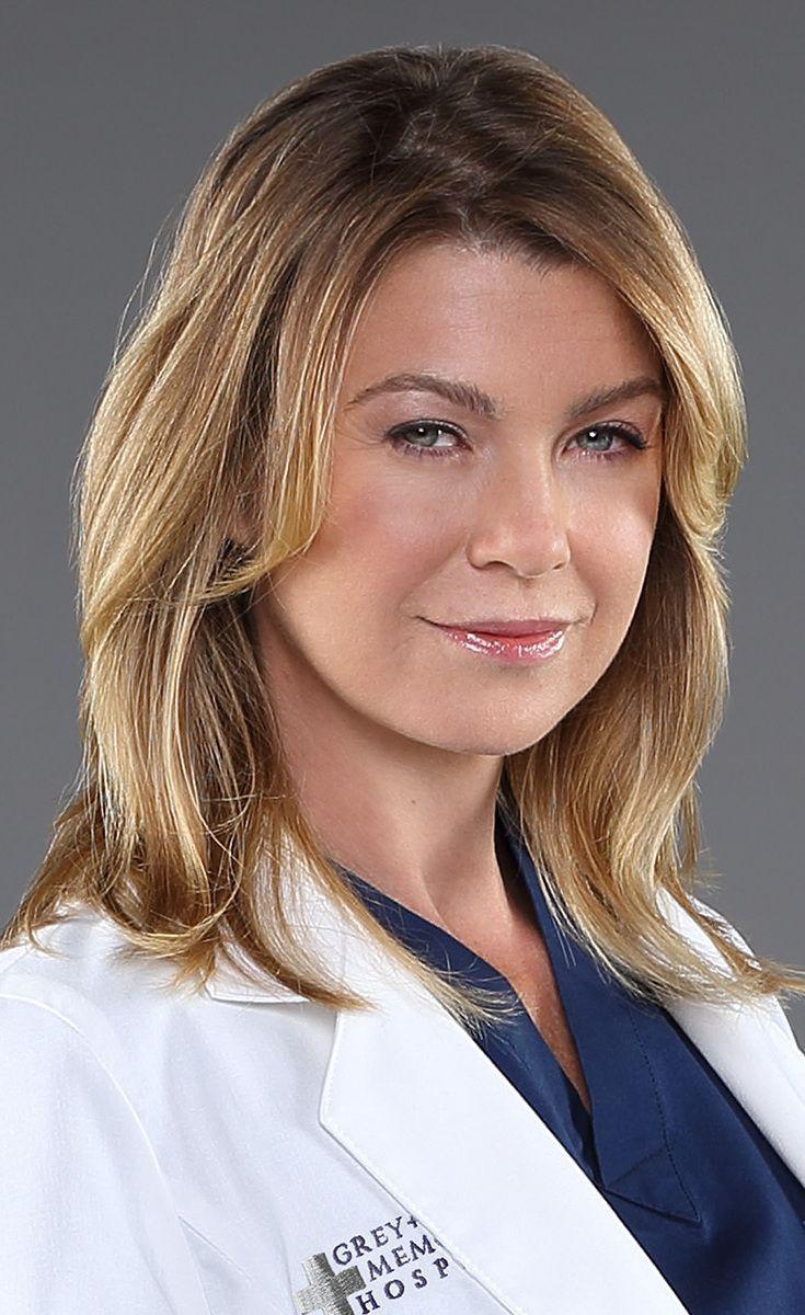 Ellen Pompeo is Dr. Meredith Grey