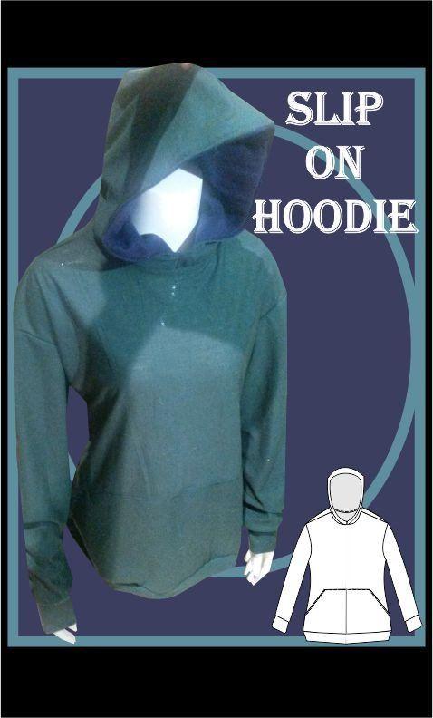 Slip on Hoodie Sewing Pattern