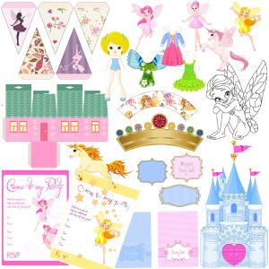 Printable Party Pack – Fairies
