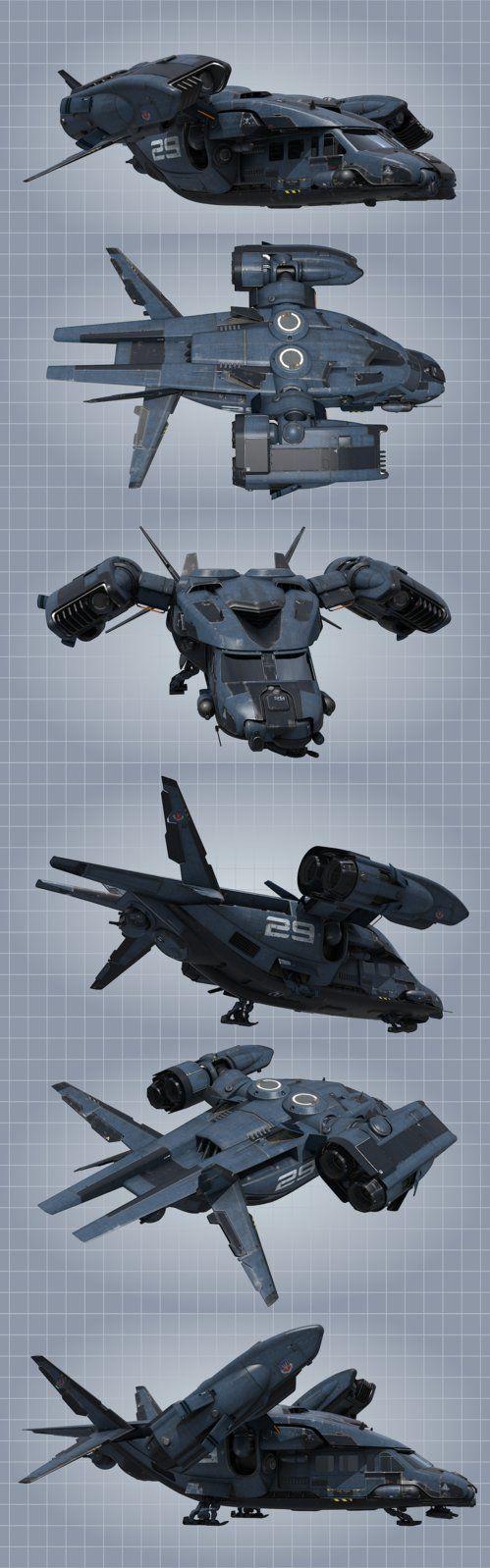 Atmospheric personel carrier. by NovA29R.deviantart.com on @DeviantArt