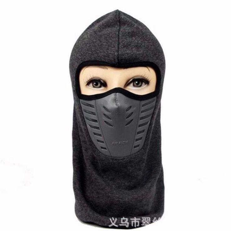 Full Face Mask Thermal Fleece Balaclava Neck Warmer Winter Ski Cap Cover Hat - Gchoic.com