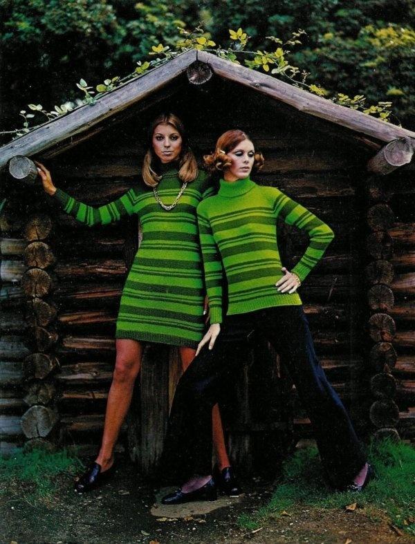 60's knit fashion - 3