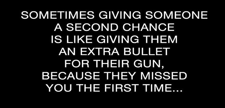 Giving Someone Another Chance Quotes by @quotesgram