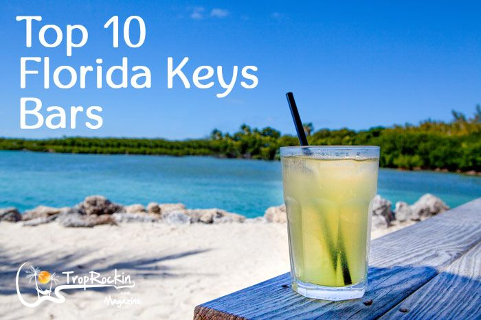 Top 10 Florida Keys Bars (excluding Key West area)