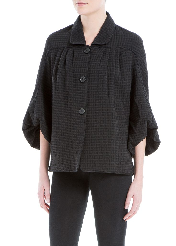 Piqué Jacket - Stylist's Pick: A must have piece! The silhouette, the fabric, the details- everything is notable