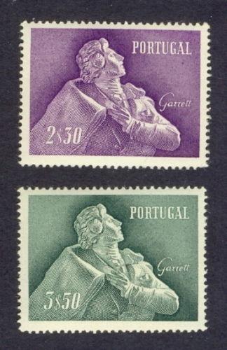 Selos portugueses - Almeida Garrett - escritor - romancista - etc
