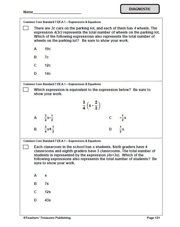 7th Grade Ohio Common Core Math | Teaching | Pinterest | Math ...