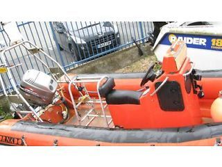 Dive Rib Boat for Sale £5,500 ono Tornado 5.3m with Mariner 90hp 2 stroke engine REDUCED PRICE Bexleyheath Picture 8
