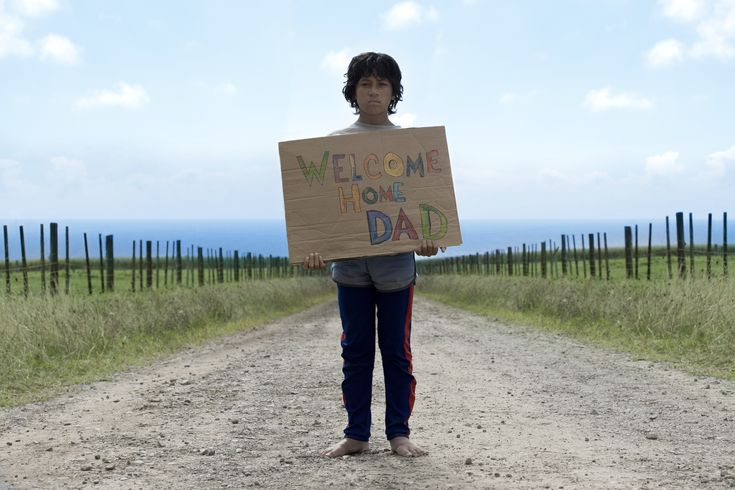 Waiting for the best dad in the world.....James Rolleston as Boy in BOY