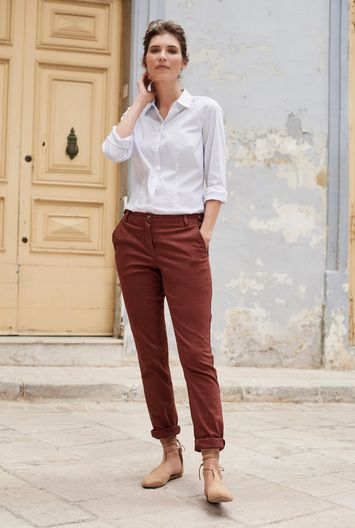 Cotton Rich Tapered Chino