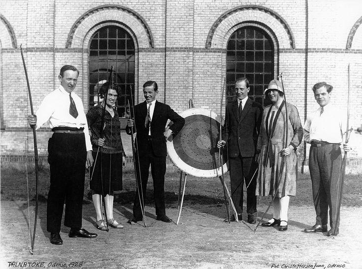http://bueskydningdanmark.dk/om/historie/  Palnatoke Odense – 1928