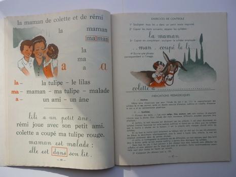 Comment la lecture venait aux enfants...