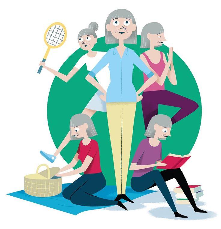 Illustration for Danish pension service provider PKA.  #bennybox #illustration