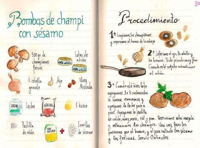 Bombas de Champiñon con Sésamo - Gastroandalusi