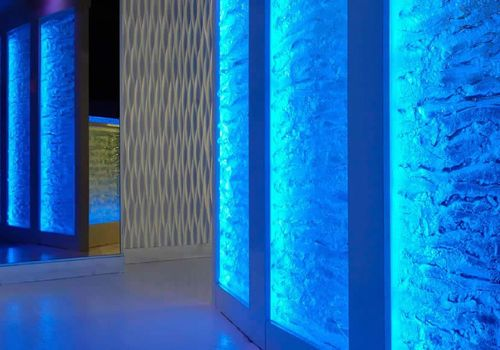 17 best images about backlit wall panels on pinterest for Textured glass panels