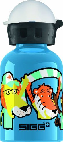 SIGG Go Team Water Bottle, Blue, 0.3-Liter -- Check out the image by visiting the link.