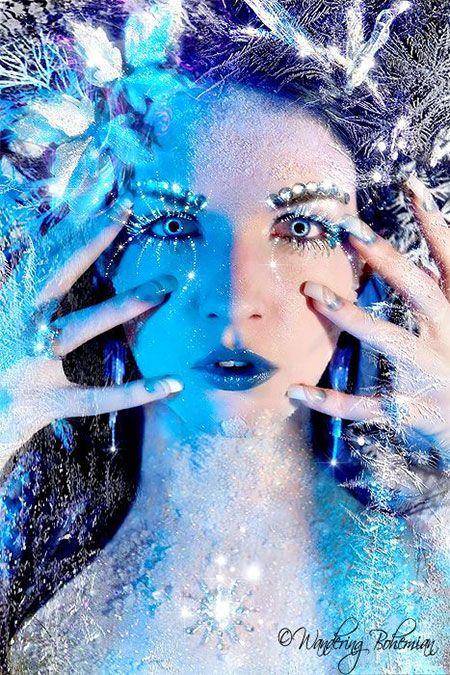 Best Snow Queen White Winter Make Up Ideas Looks 2013 2014 4 Best Snow Queen White Winter Make Up Ideas & Looks 2013/ 2014