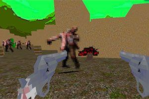 Juego - Cowboy vs Zombie