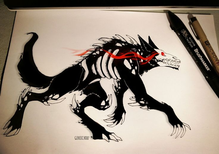 grimm creature from RWBY