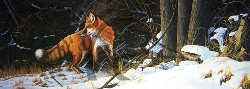Out For Lunch Charlotte Edwards Ducks Unlimited Artist 2000 Red Fox Ltd Ed S/N in Collectibles   eBay
