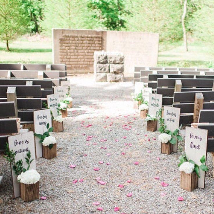 Wedding Aisle Decor 1 Corinthians 1347 Etsy in 2020