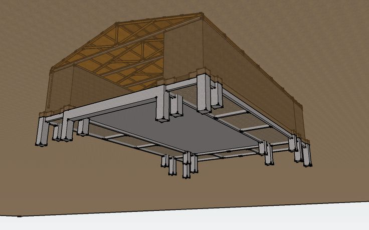 Pole barn ideas suggestions please page 3 for Garage foundation plans