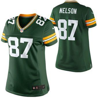 Jordy Nelson Green Bay Packers Nike Women s Limited Jersey - Green ... 58afec561