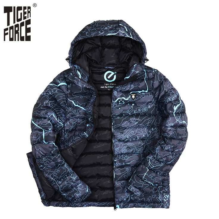Find More Parkas Information about TIGER FORCE 2016 Brand Men Fashion Cotton Padded Jacket Winter Autumn Polyester Coat Camouflage European Size Free Shipping ,High Quality jacket coat women,China jacket hunting Suppliers, Cheap coat set from TIGER FORCE Official Store on Aliexpress.com