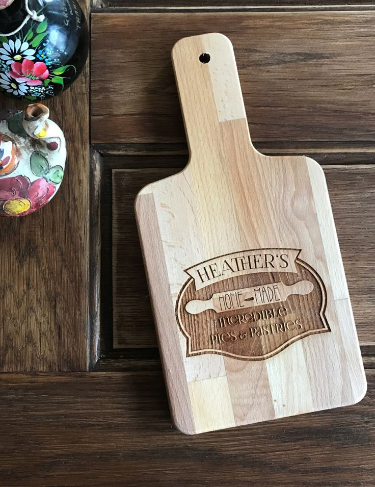 Bakery, Birthday gift engraved wood cutting board, chefs gift, anniversary gift, bakers gift, housewarming gift, maple, bakery gift by Dogtowncollectibles on Etsy
