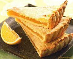 Веганский лимонный пирог без дрожжей / Вегетарианские и веганские рецепты / Рецепты в духовке