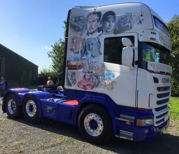 FAST AND FURIOUS THEMED SCANIA