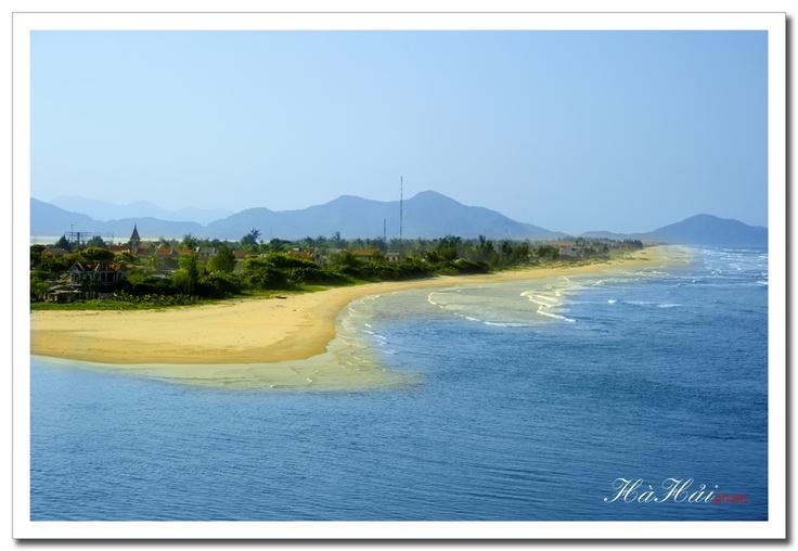 Lang Co beach par Ha Hai