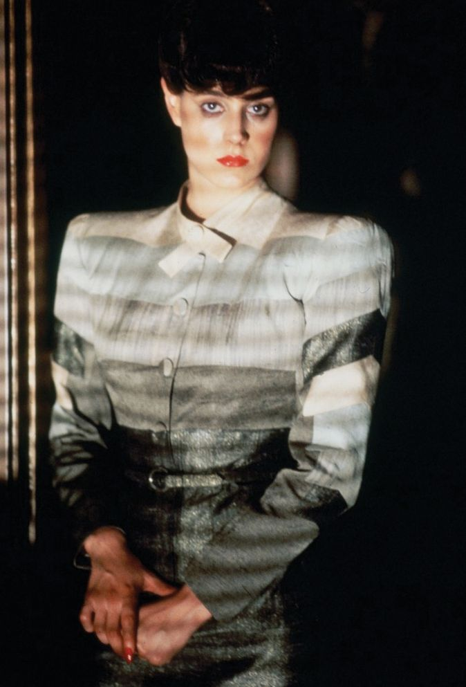Sean Young, Blade Runner.                                                                                                                                                                                 More