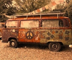 This was the first car I ever wanted-not this one exactly but definitely a VW van. Orange or green!