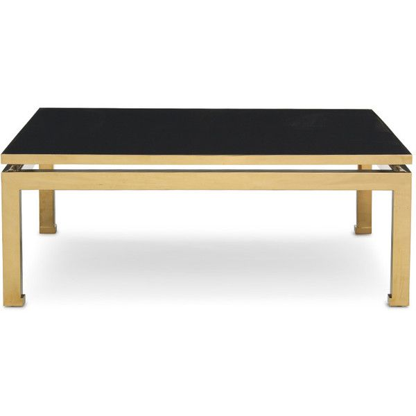 Mitchell Gold + Bob Williams Classic Modern Home Furnishings  sc 1 st  Pinterest & 63 best Black and Gold Coffee Tables images on Pinterest | Low ...