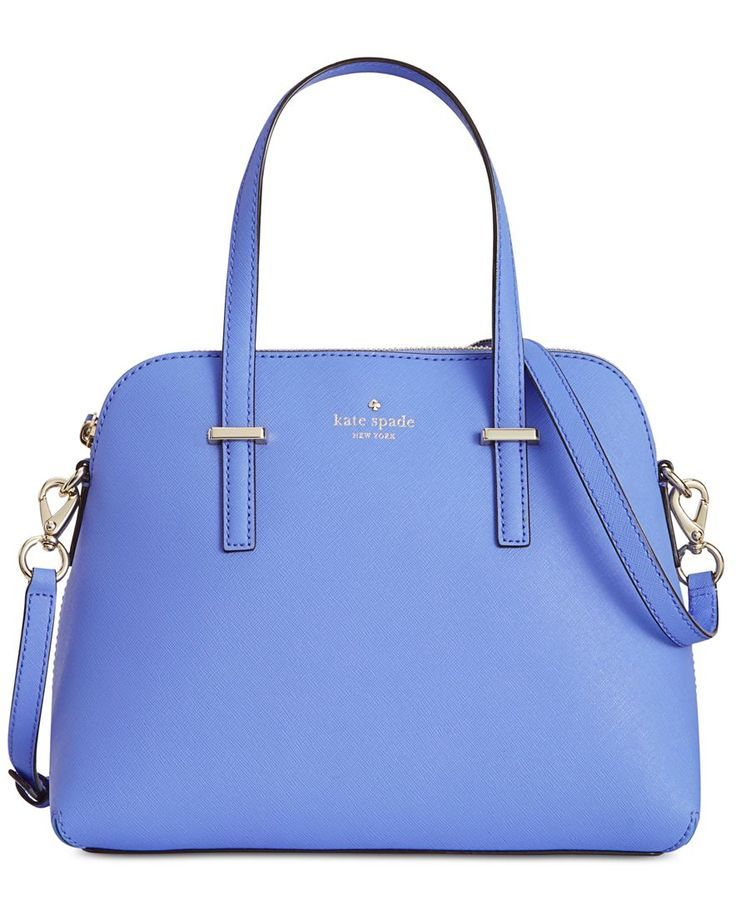"""A surprisingly spacious & versatile design, the ever-popular Maise Crossbody from kate spade new york carries it all effortlessly in durable crosshatch leather. 