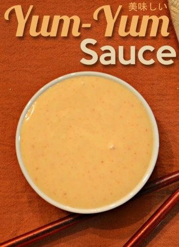 If you want to make the yum yum sauce recipe that is found in Japanese steak houses, this is the post for you. Simple and easy and delicious every time. #food #yummy #delicious