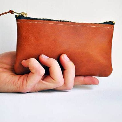 Am loving the new clutch bags, especially this one in tan brown. Also available in black, chocolate, creme and white #leather #leatherclutch #leatherbag #leathercraft #tanbrown