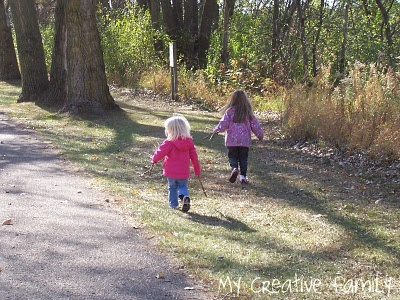 Ways to make a walk more fun. -- directed activities for nature walk