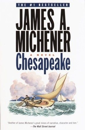 Chesapeake by James Michener - A wonderful historical fiction novel.  I would expect nothing less from the author of Centennial!!
