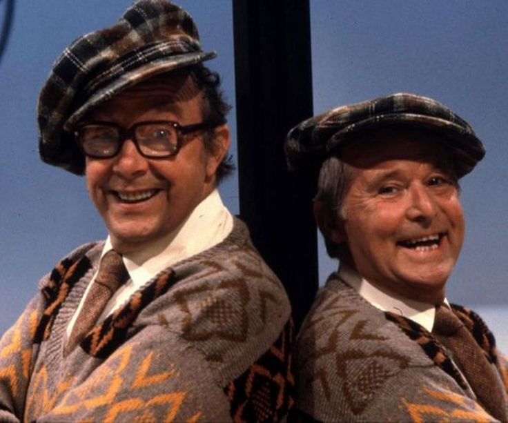 Morcombe and Wise were a comedy duo who worked together from 1941 until Eric Morecombe's death in 1984. Their TV show was a mixture of a sitcom and a sketch show which featured them singing and dancing in each episode. The duo's Christmas shows drew record ratings in the UK.
