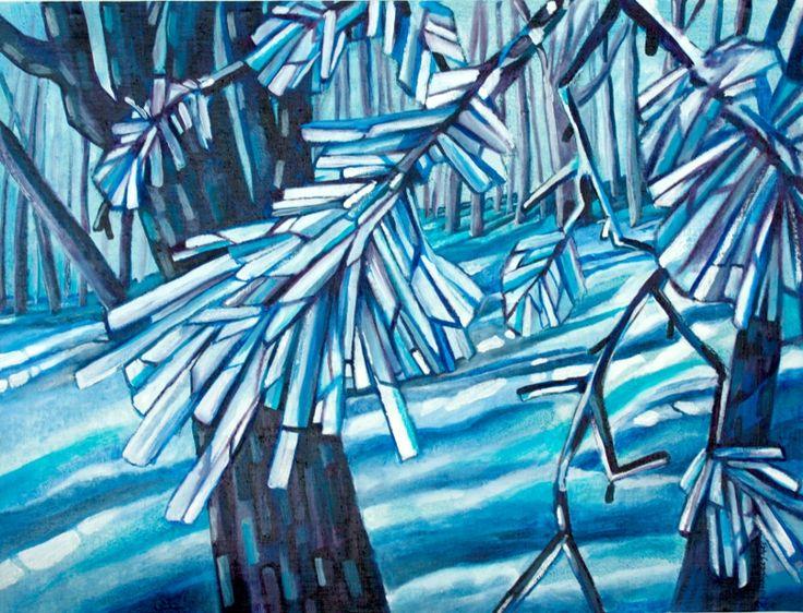 Oil on canvas,  by Satu Laaninen