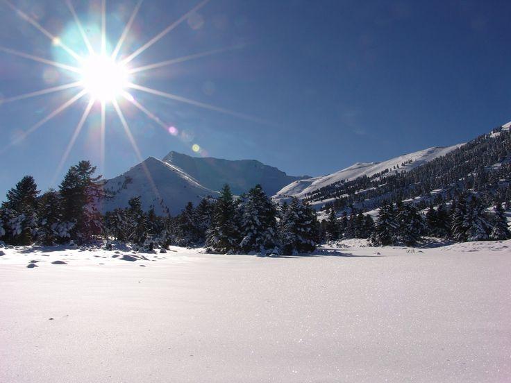 Kalavrita Ski Resort Greece