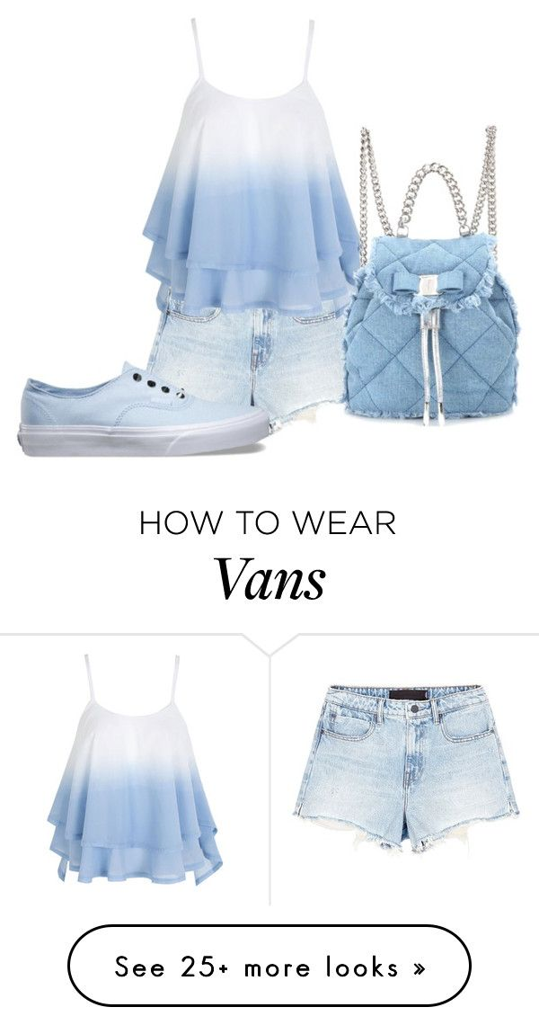 """Без названия #394"" by katka-shumikhina on Polyvore featuring Alexander Wang, WithChic, Vans and Salvatore Ferragamo"