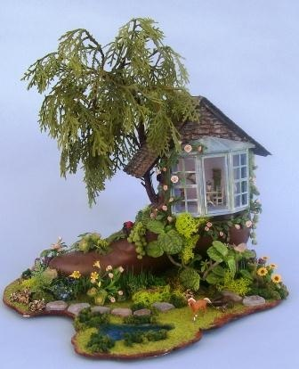 Laura Crain's Miniature Gardens Galore - lots of the cutest scenes