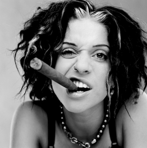 Ani Difranco. Trapped on a desert island, Ani would be my one and only artist I would want to have. LOVE!