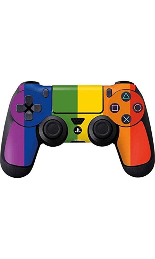 PRIDE PS4 DualShock4 Controller Skin - Vertical Rainbow Flag Vinyl Decal Skin For Your PS4 DualShock4 Controller Best Price